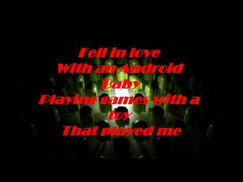 Simon Curtis - Fell In Love With An Android (Lyrics)