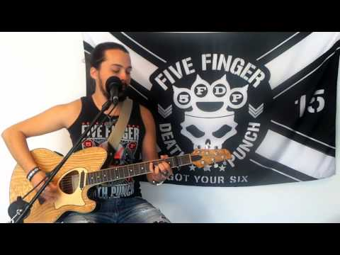 I Apologize - Five Finger Death Punch (Acoustic Cover)