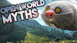 5 Open World Game Myths DEBUNKED