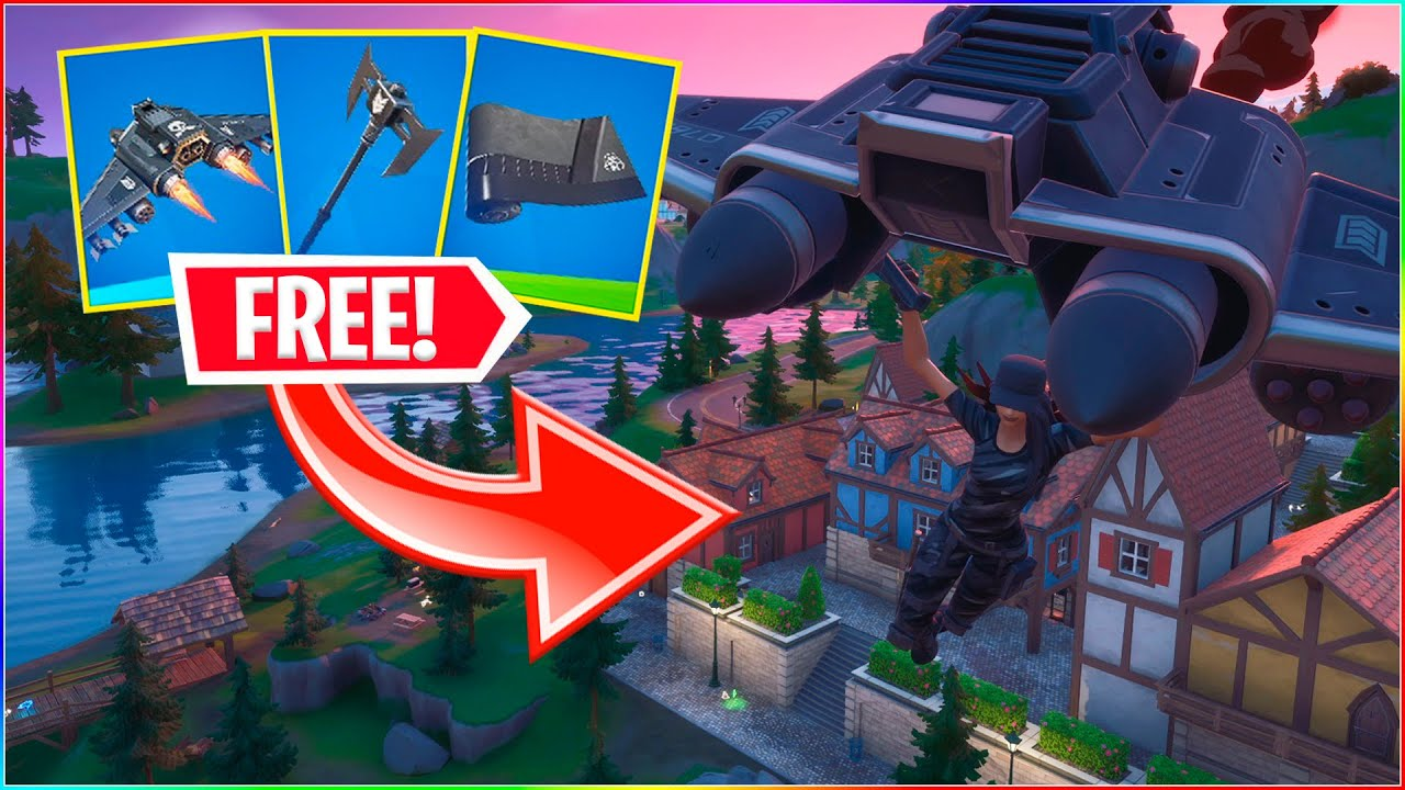 GRATIS BACK BLING, GLIDER & PICKAXE! | Dansk Fortnite