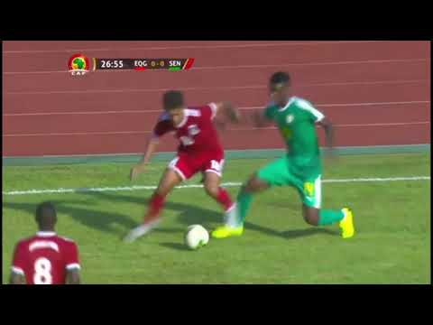 Equatorial Guinea vs Senegal. CAN 2019. Guinea Ecuatorial seleccion nacional. National team