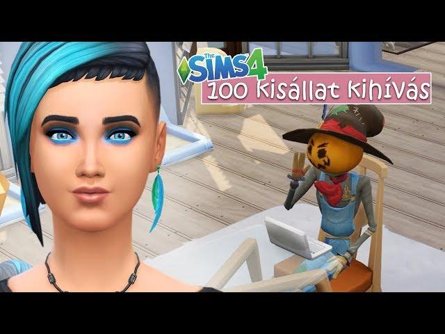 Ki ez a madárijesztő? 32. rész - The Sims 4: 100 Kisállat Kihívás