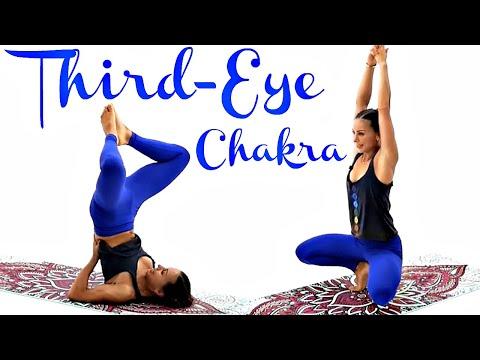 Third-Eye Chakra | 7 Chakras Yoga Series #6 | Juliette Wooten