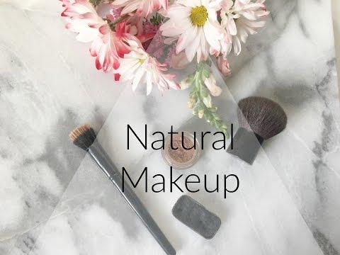 My Natural Makeup Routine | Zero Waste, Vegan, Cruelty-free Makeup
