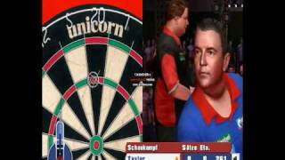 PDC World Championship Darts 2008 (PC Game) 9 Darter