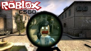 ROBLOX - COUNTER BLOX (MULTIPLAYER ONLINE) - CS:GO NO ROBLOX