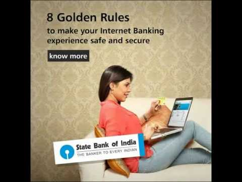 SBI Safe Banking- Internet Services
