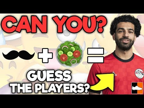 Can you guess world cup 🏆 players by the emoji?