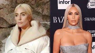 Kim Kardashian Fans ACCUSE Lady Gaga Of Copying THIS Look