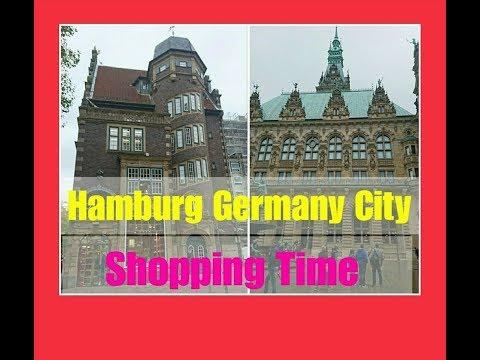 CITY OF HAMBURG GERMANY / SHOPPING TIME