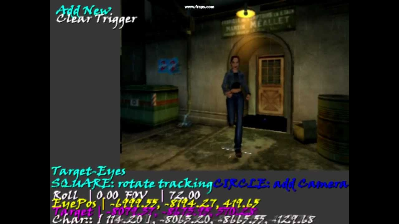 Tomb Raider AOD PS2 (on pc emulator, hacked elf file) Camera