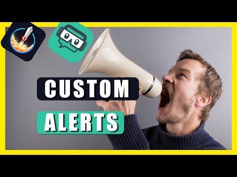 Create custom Twitch alerts - sound effects