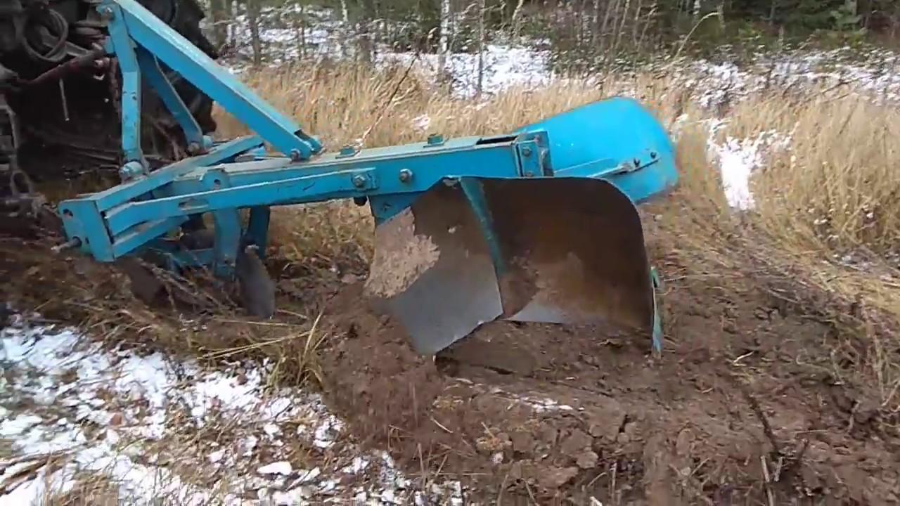 Правильно ли пашет трактор? Устройство минерализованных полос плугом ПКЛ-70