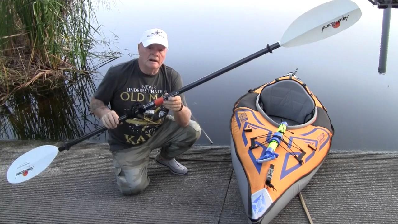 Aqua-Bound Manta Ray Carbon Posi-Lok Kayak Paddle