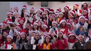 Chegada do Pai Natal a Loulé | Atuação do maior coro do País