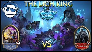 Hearthstone | Knights of the Frozen Throne | The Lich King Vs Priest