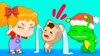 Groovy The Martian & Phoebe   Children learn to be generous and share at winter time