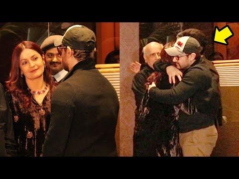 Aamir Khan HUGS Pooja Bhatt Tightly & Shows LOVE As they Meet 27 Years After Dil Hai Ke Manta Nahi
