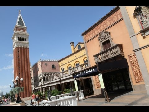Fine Dining in Italy at Epcot
