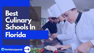 Culinary Schools In Florida (2021) - The Top 11 Schools you can Apply to.
