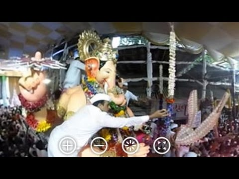 360 Degree View: Ganesh Visarjan In Mumbai...