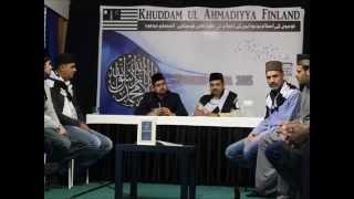 1st National Ijtema Majlis Khuddam ul Ahmadiyya Finland
