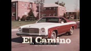 1978 chevrolet el camino, camaro & monza promo film chevy / general motors 17744