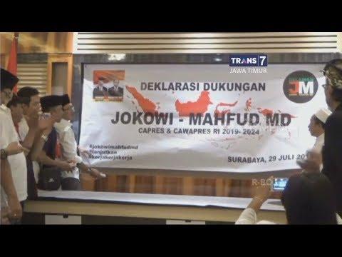Deklarasi Dukungan untuk Jokowi - Machfud MD di Pilpres 2019