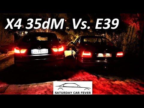 BMW X4 35d M Vs. E39 Engine Sound / Night Driving TEST PL