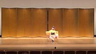 日本舞踊 桜禿 お稽古   Japanese Traditional dance,Nihon Buyo