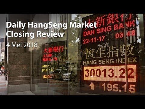 Daily Hangseng Market Closing Review (4 Mei 2018)