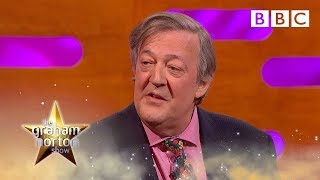 Stephen Fry's hilarious Tesla prank  😂  | The Graham Norton Show - BBC