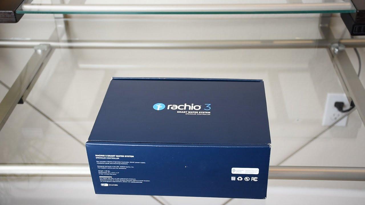 rachio 3 smart sprinkler controller unboxing setup. Black Bedroom Furniture Sets. Home Design Ideas