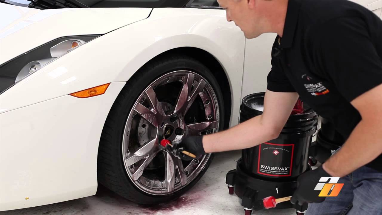 Detailing Tutorial How To Wash Car Wheels And Tires With Swissvax