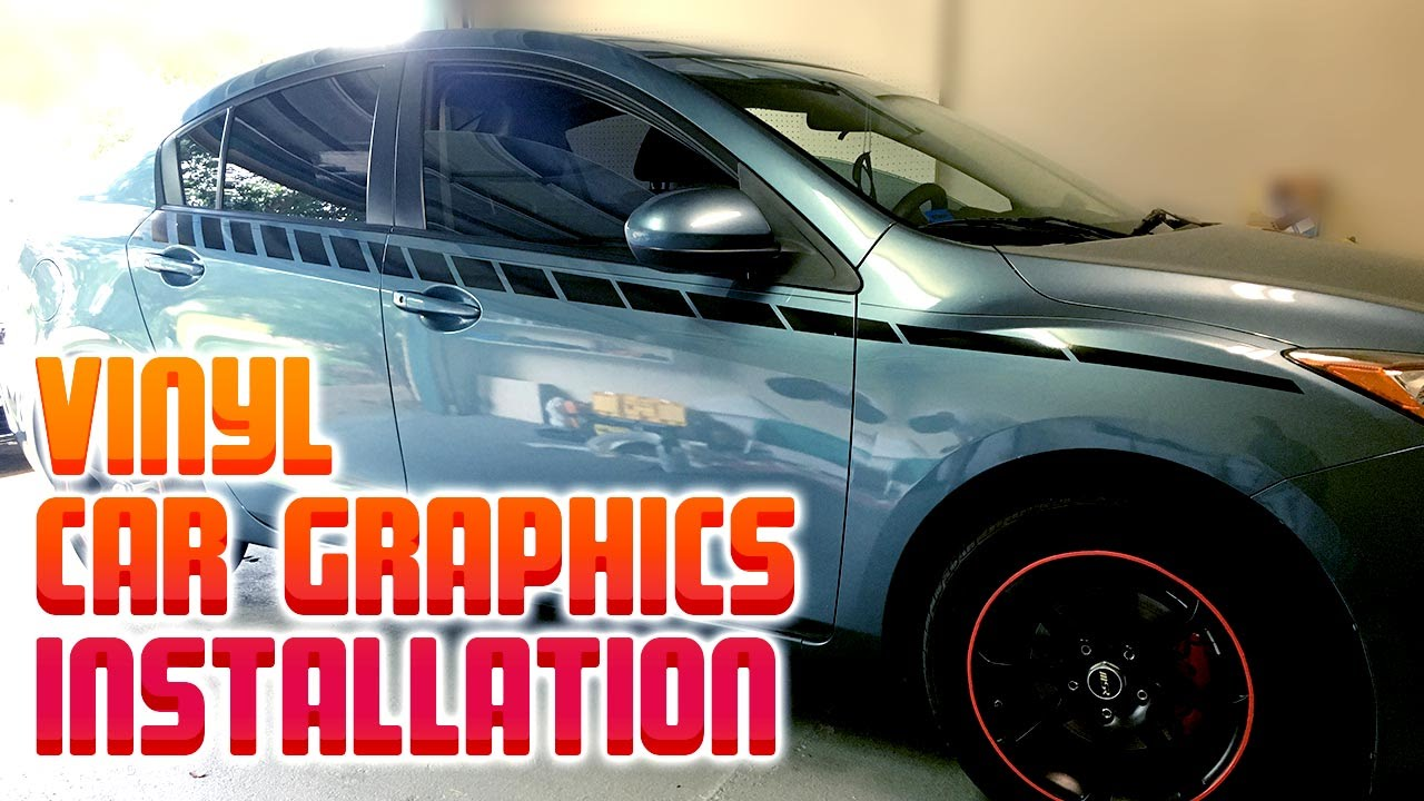 Vinyl Side Car Graphics Installation Dry Install Youtube