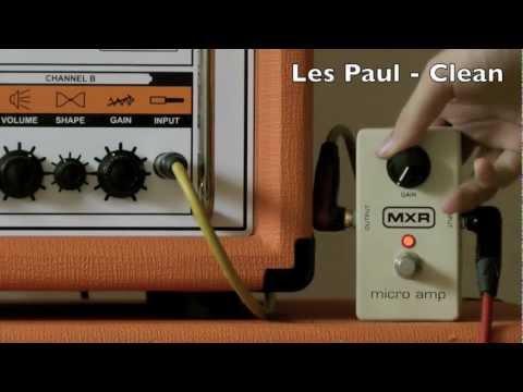 MXR M133 Micro Amp HD