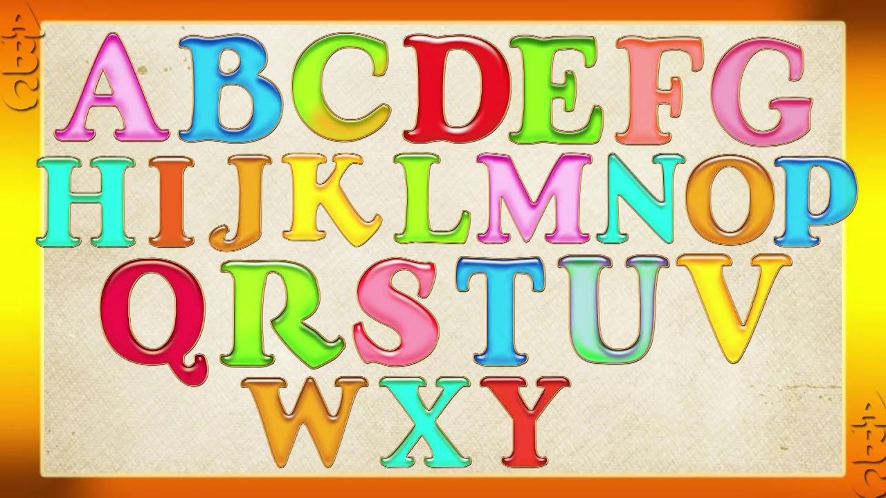 Английский алфавит ⁄ English alphabet ⁄ ABC для детей Наше ...
