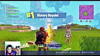 #1 VICTORY ROYALE MET 0 KILLS!! - FORTNITE BATTLE ROYALE