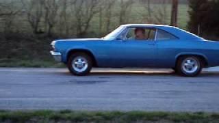 65 impala ss 396 4 speed