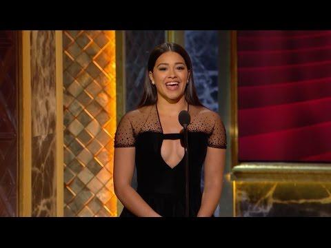 Gina Rodriguez Honors Rita Moreno  2015 Kennedy Center Honors