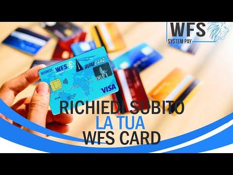 Come richiedere la tua WFS Card