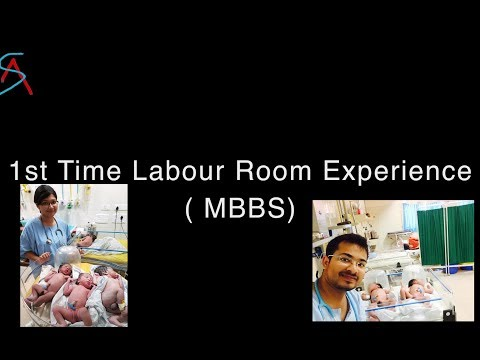 First time Labour/Delivery Room Experience || MBBS Life