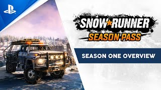 SnowRunner - Season One Overview Trailer | PS4