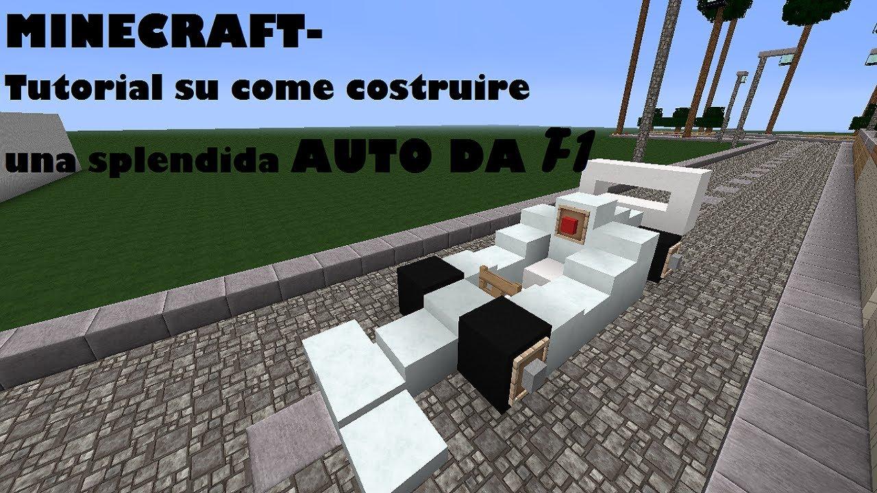 Minecraft tutorial su come costruire una splendida auto for Come progettare una casa da costruire