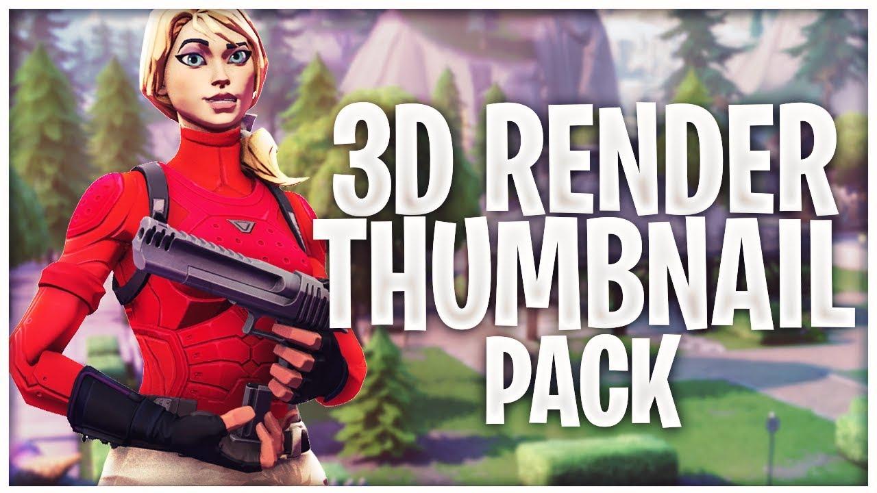 Pack Render Fortnite 3d | Fortnite Free Usmook Download