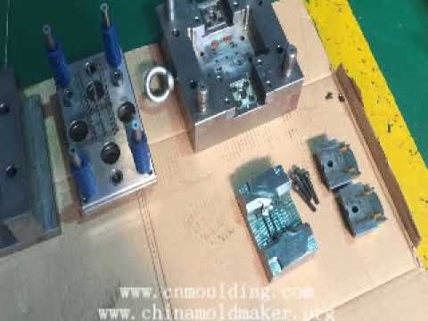 Injection mold assembly process