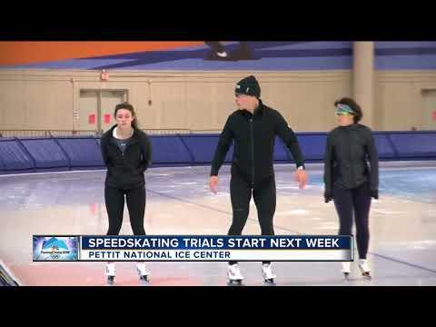 Speed skating trials start next week