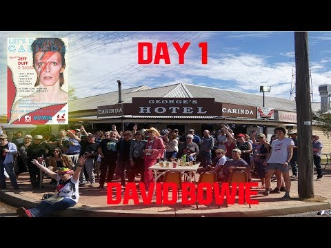 Let's Dance Carinda (David Bowie Weekend) Day 1