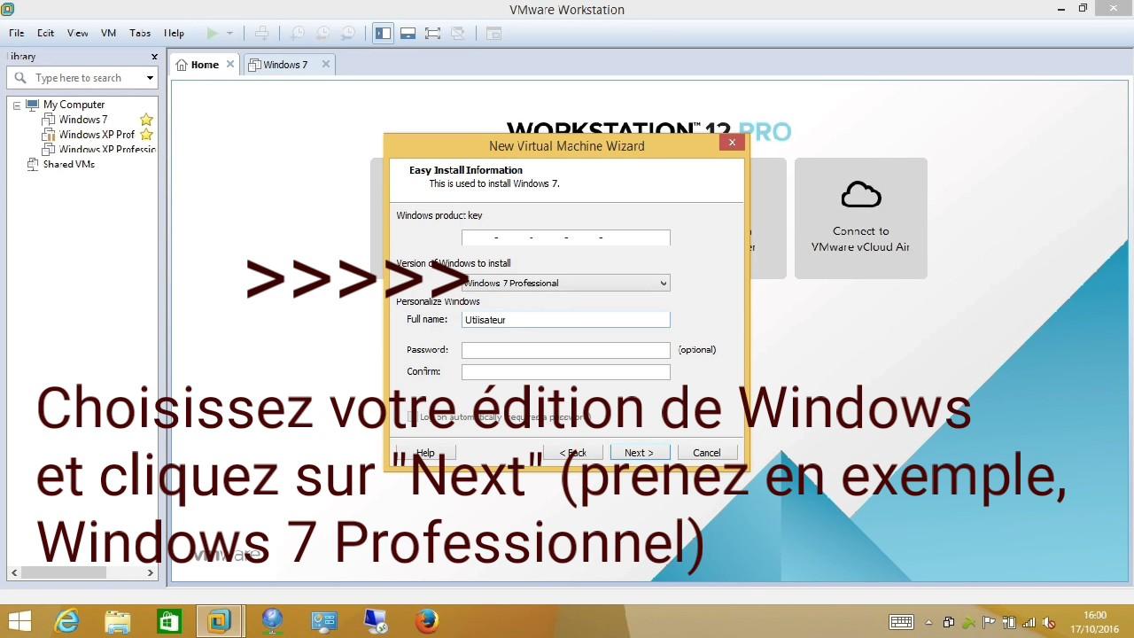 vmware workstation comment ca marche