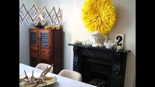 Yellow Wall Decor   Home Decorators Collection | Yellow Wall Décor